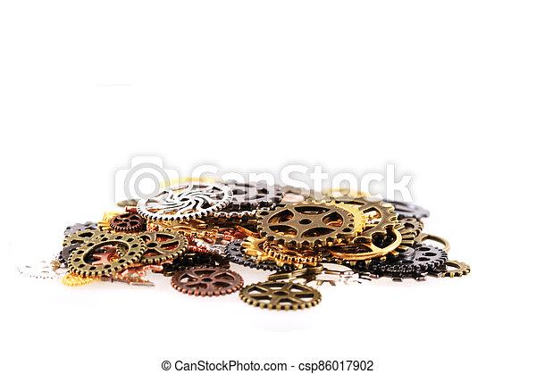 roues, machine, temps - csp86017902