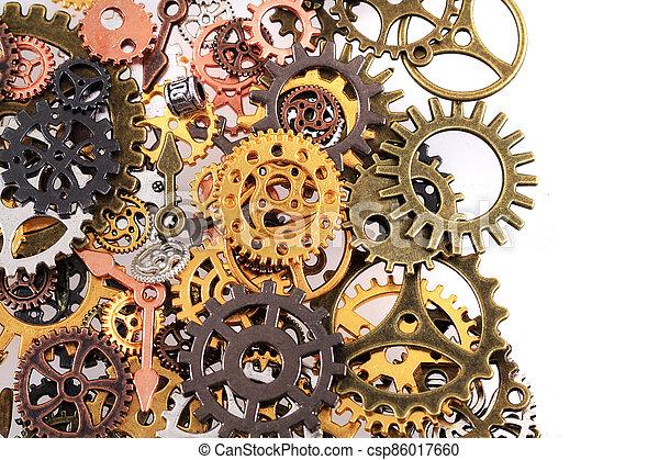 roues, machine, temps - csp86017660