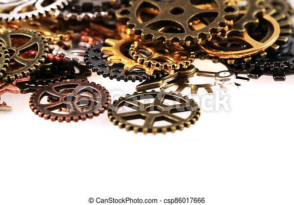 roues, machine, temps - csp86017666