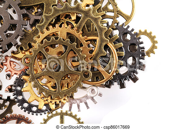 roues, machine, temps - csp86017669