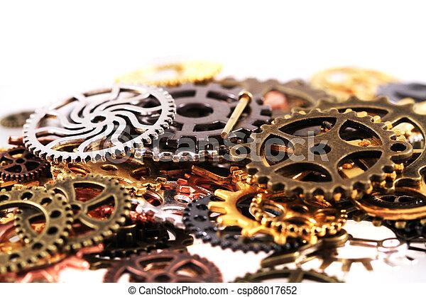 roues, machine, temps - csp86017652