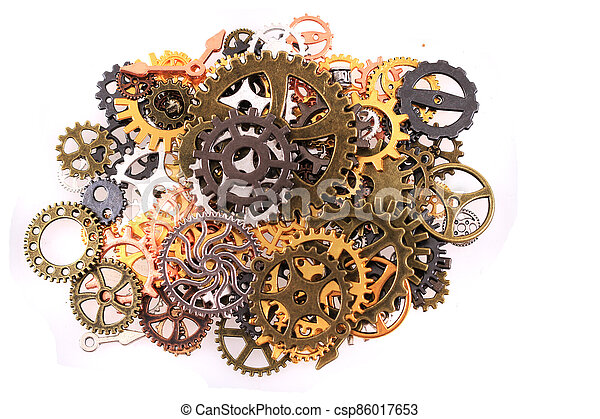roues, machine, temps - csp86017653