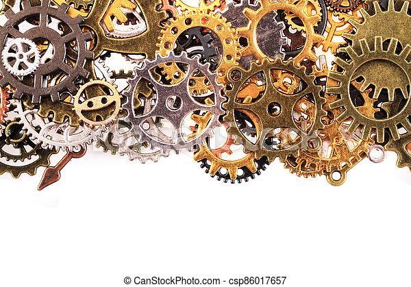 roues, machine, temps - csp86017657