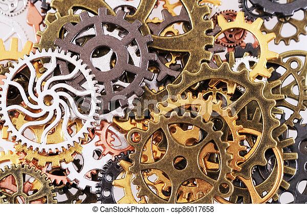 roues, machine, temps - csp86017658