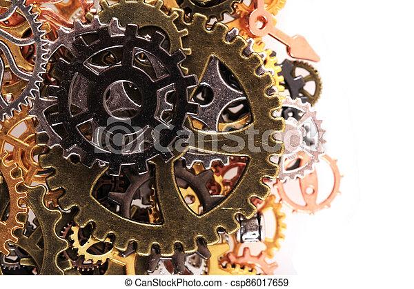 roues, machine, temps - csp86017659