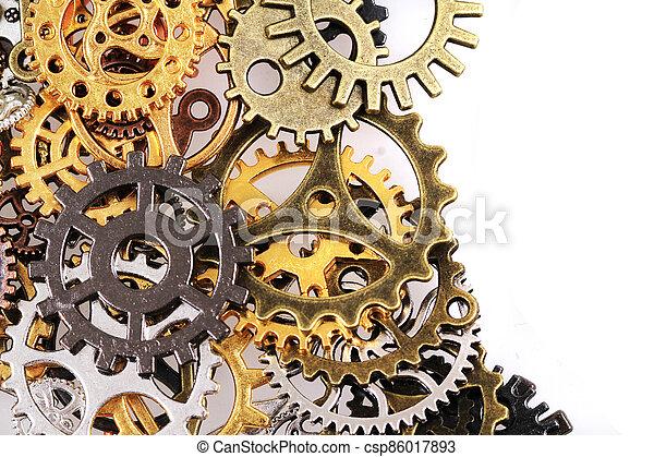roues, machine, temps - csp86017893