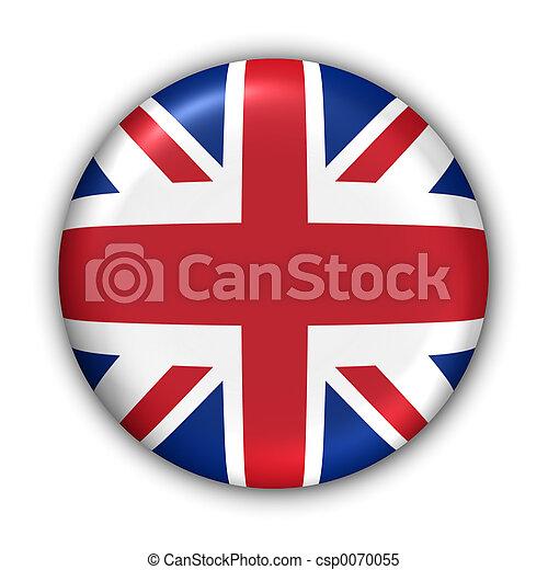 royaume, drapeau, uni - csp0070055