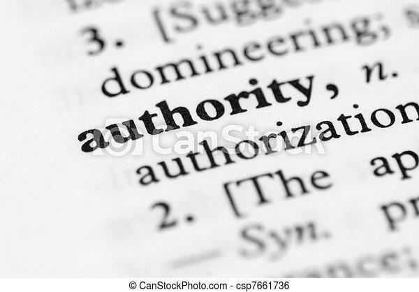 série, -, dictionnaire, autorité - csp7661736