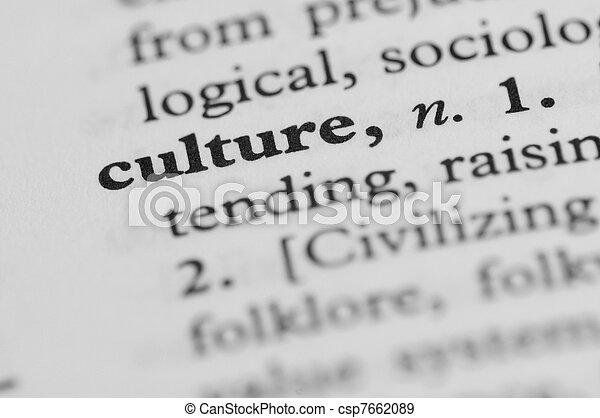 série, -, dictionnaire, culture - csp7662089