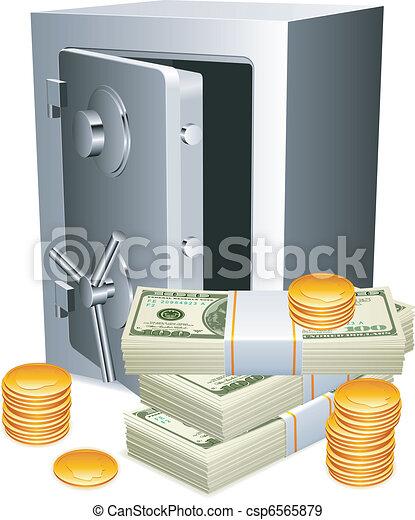 sûr, argent. - csp6565879