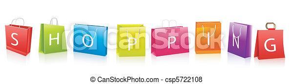 sacs, achats, vente - csp5722108