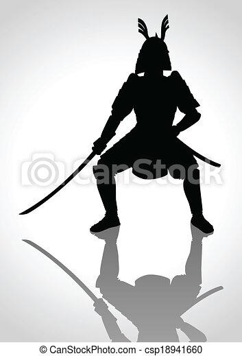 samouraï - csp18941660