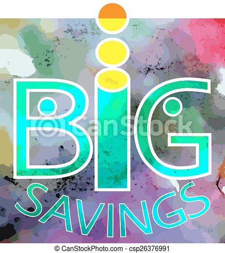 savings., grand - csp26376991