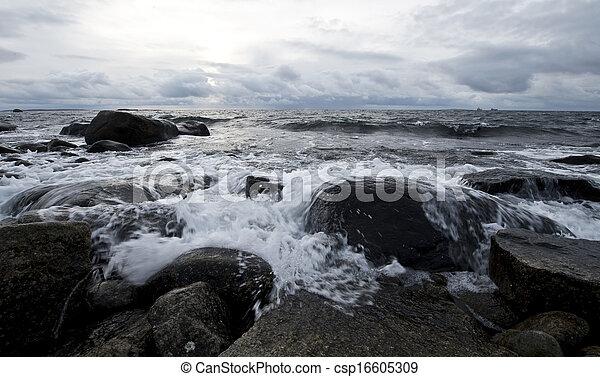 scénique, côtier, paysage - csp16605309
