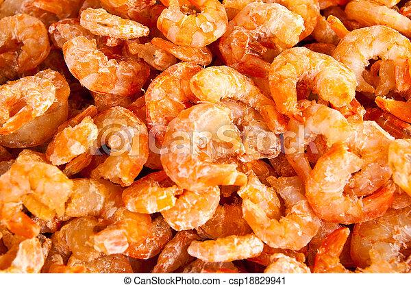 sec, crevettes - csp18829941