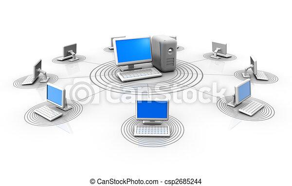 serveur réseau - csp2685244