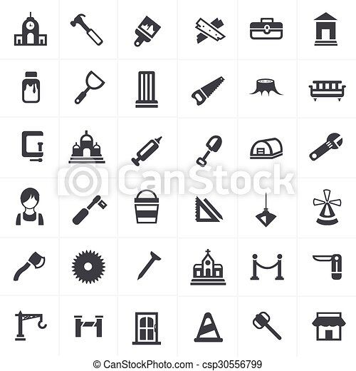 set., charpentier, icônes - csp30556799