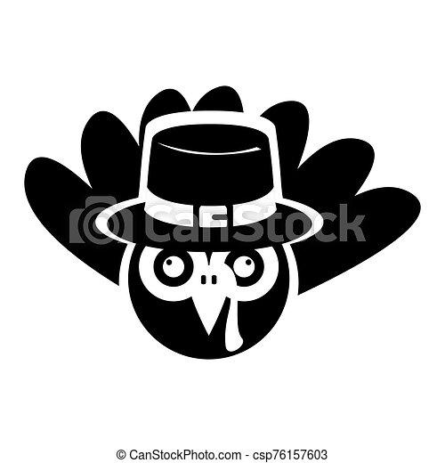 silhouette, turquie - csp76157603