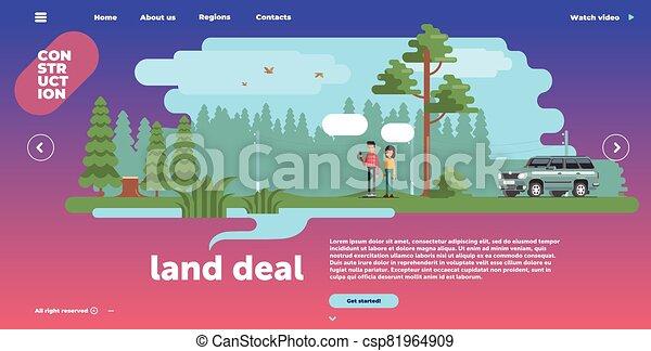 site web, interface, gabarit, conception - csp81964909