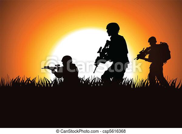 soldats - csp5616368