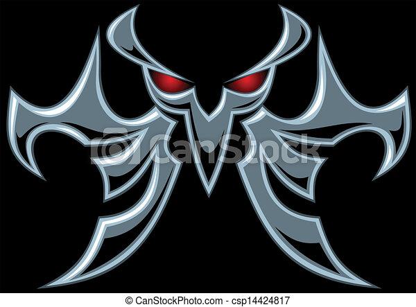 sombre, symbole, diable - csp14424817
