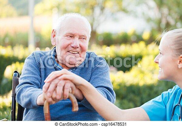 sourire, patient - csp16478531