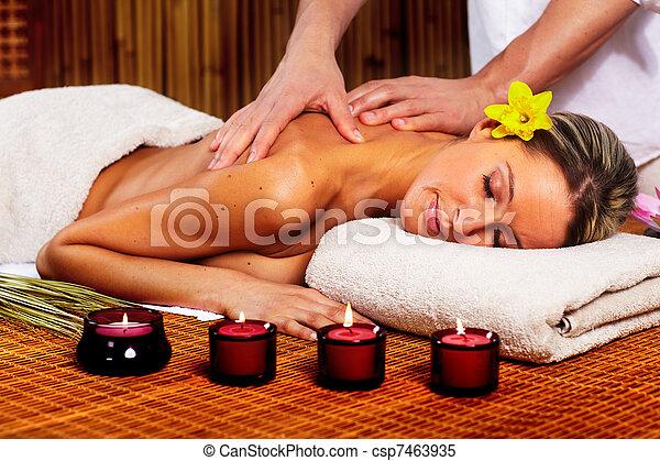 spa, massage. - csp7463935