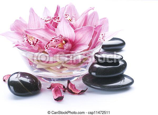 spa, pierre, masage - csp11472511