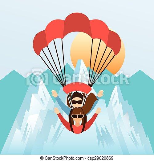 sport extrême - csp29020869