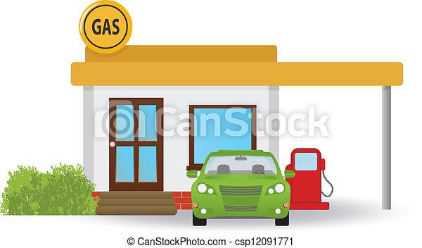 station, essence - csp12091771