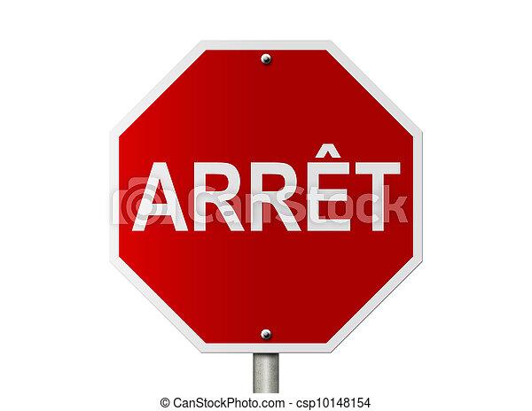 stop - csp10148154
