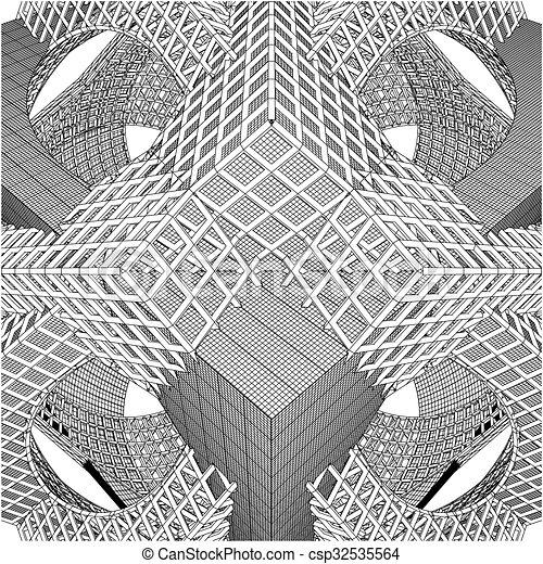 structure, construction, résumé - csp32535564