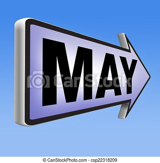 suivant, mai - csp22318209