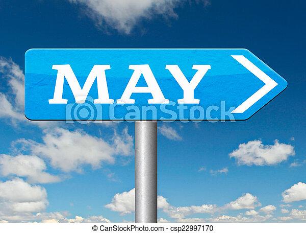 suivant, mai - csp22997170