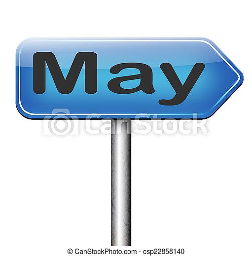 suivant, mai - csp22858140
