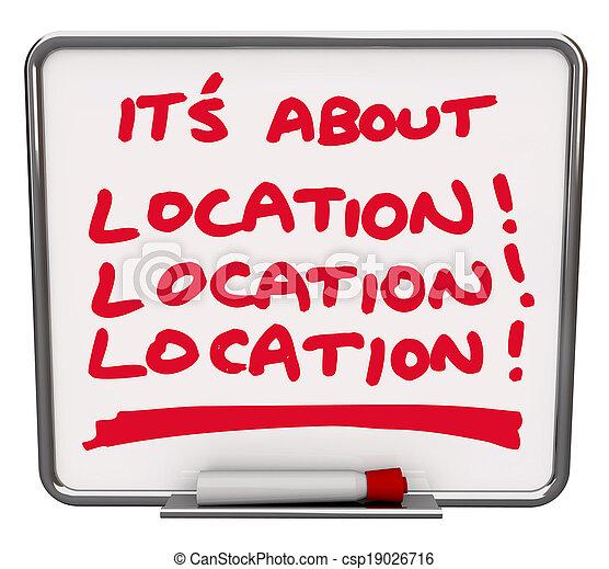 sur, secteur, destination, tache, tout, endroit, emplacement, sien, mieux - csp19026716