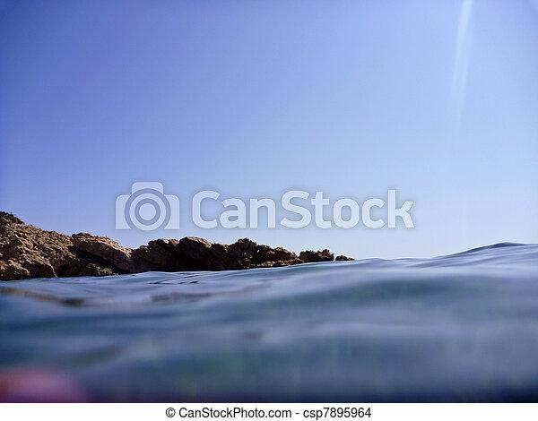 surface eau - csp7895964