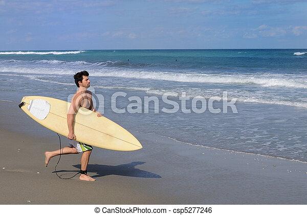 surfeur - csp5277246