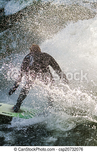 surfeur - csp20732076