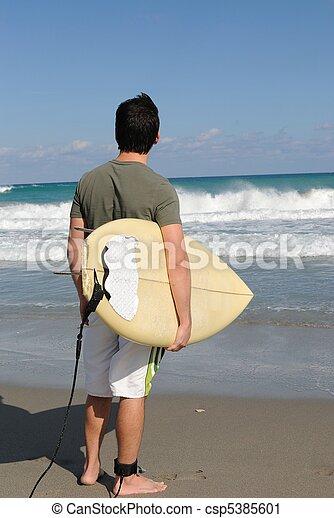 surfeur - csp5385601
