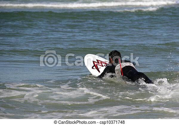 surfeur - csp10371748