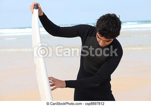 surfeur - csp8897812