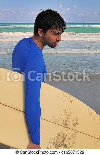 surfeur - csp5871329