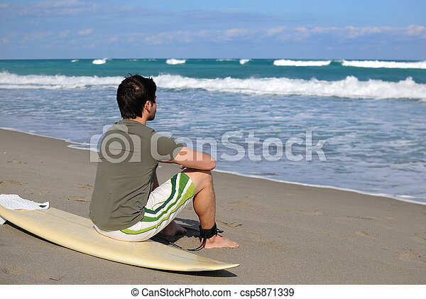surfeur - csp5871339