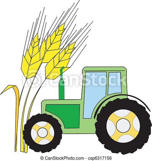 symbole, agriculture - csp6317156