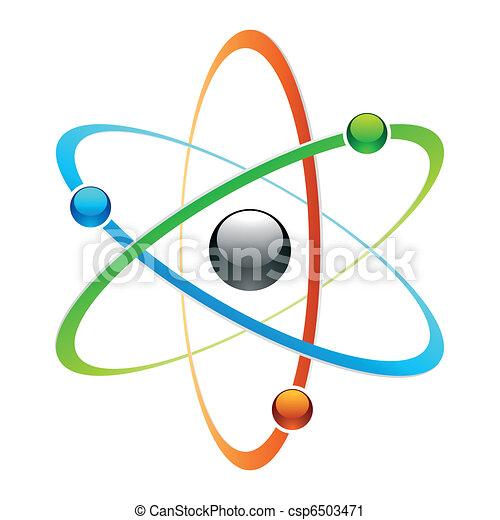 symbole, atome - csp6503471