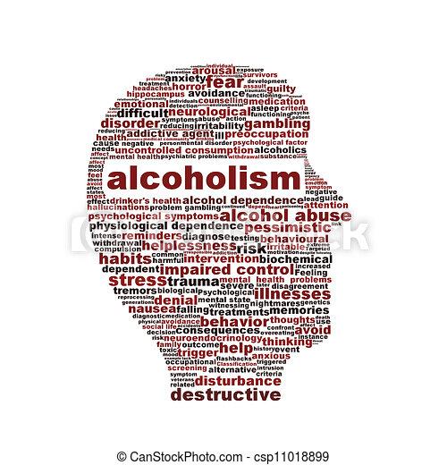 symbole médical, blanc, isolé, alcoolisme - csp11018899