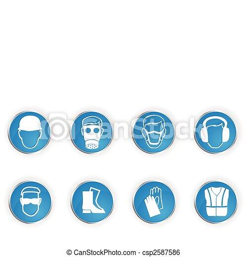 symboles, sécurité - csp2587586