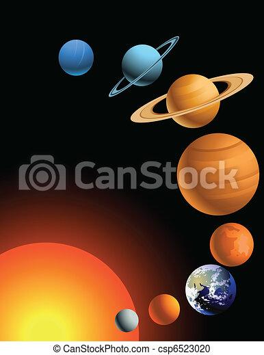 système, solaire - csp6523020