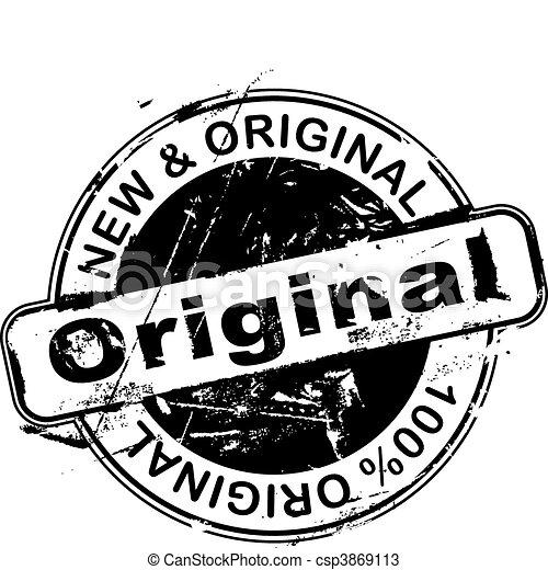 tampon, original - csp3869113